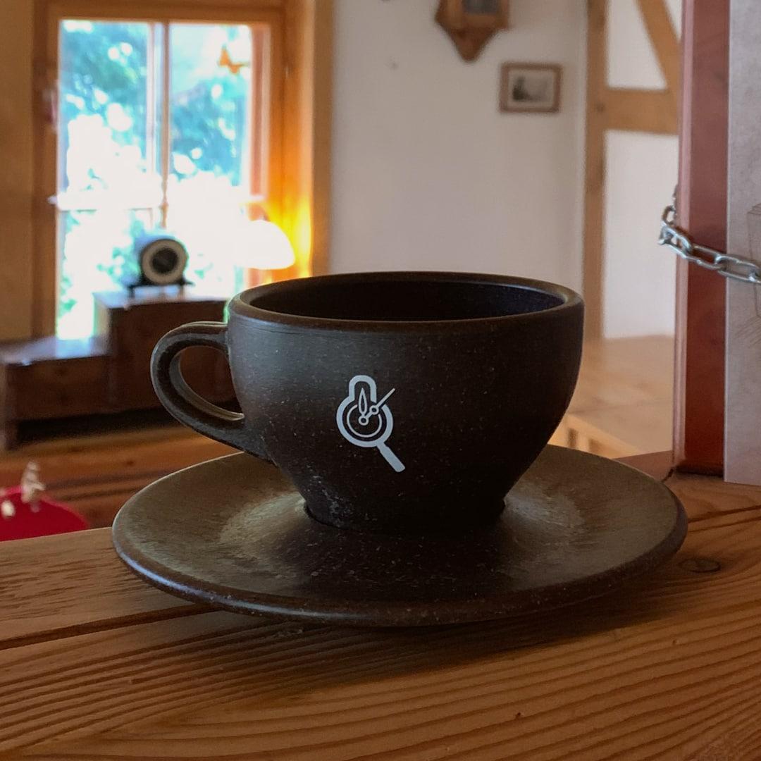 RätselCafé Kaffeesatz-Tasse Kaffeeform